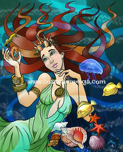 Diosa Celta Deva